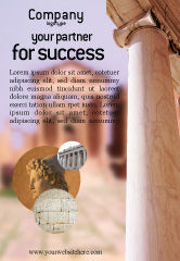 Construction: Ancient Greece Ad Template #01670