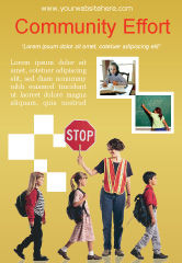 Education & Training: 광고 템플릿 - 사회 교육 #01704