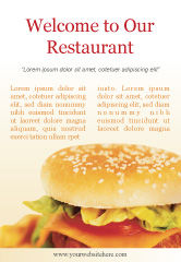 Food & Beverage: Fast Food Ad Template #01741
