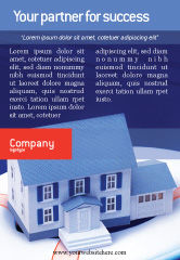 Business Concepts: Property Insurance Ad Template #01878