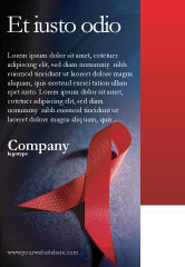 Medical: AIDS Ad Template #01892