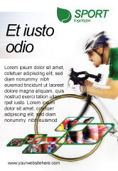 Sports: Tour de France Ad Template #01895