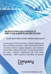 Business: Kantoorgebouw Hal Advertentie Template #01957