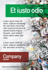 Nature & Environment: リサイクル業界 - 広告テンプレート #01961