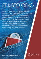 Medical: Plantilla de publicidad - condón #01976