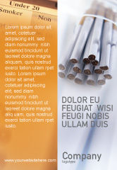 Medical: Cigarettes Ad Template #01977