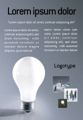Business Concepts: Idee Advertentie Template #01989