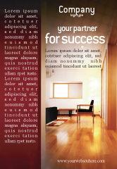 Careers/Industry: Modèle de Publicité de design d'appartement #02035