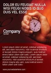 Consulting: Stopwatch Advertentie Template #02051