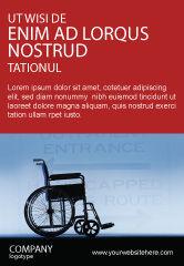Medical: 残障人士广告模板 #02064