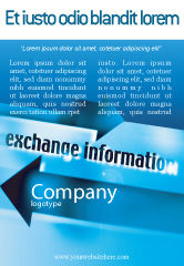 Telecommunication: Information Exchange Ad Template #02125