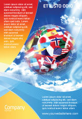 Global: World Flags Ad Template #02153