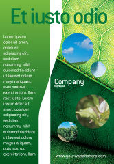 Nature & Environment: Botany Ad Template #02176
