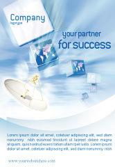 Telecommunication: Modèle de Publicité de diffusion #02196