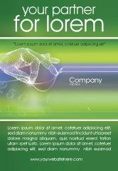 Telecommunication: Technologie Advertentie Template #02203