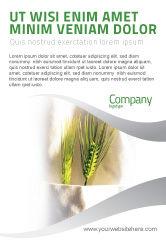 Agriculture and Animals: Templat Periklanan Bekerja Di Pertanian #02253