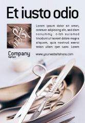 Medical: Modèle de Publicité de outils de chirurgie #02263