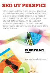 Careers/Industry: Modelo de Anúncio - acessórios de praia #02293