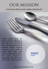 Careers/Industry: Dinner Ad Template #02312