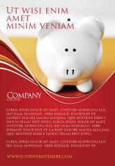 Financial/Accounting: 存钱广告模板 #02316