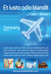 Cars/Transportation: Airways Ad Template #02321