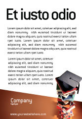 Education & Training: Academic Studies Ad Template #02359