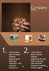 People: Modèle de Publicité de doigts bébé #02409