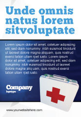 Medical: Modèle de Publicité de premiers secours #02490