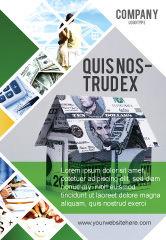 Financial/Accounting: Geldhaus Anzeigenvorlage #02500