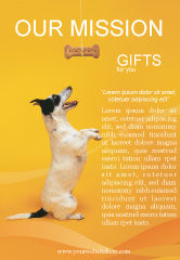 Business Concepts: Pet Ad Template #02559