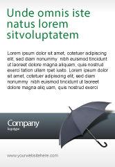 Business Concepts: Plantilla de publicidad - paraguas #02562