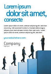 Business: Succesvolle Carriere Advertentie Template #02715