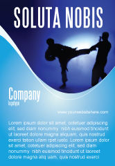 Sports: Modèle de Publicité de art martial #02724