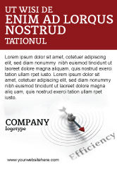 Business Concepts: Rendement Advertentie Template #02750