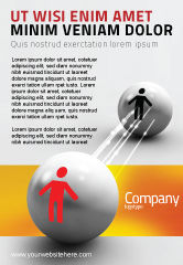 Business Concepts: Relation Ad Template #02754