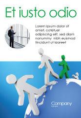 3D: Plantilla de publicidad - mundo lazos #02827