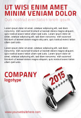 Business Concepts: Throw-Over for 2015 Ad Template #02834