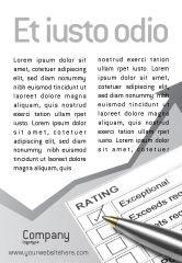 Education & Training: 광고 템플릿 - 평가 #02840