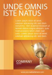 Business Concepts: Plantilla de publicidad - premio #02858