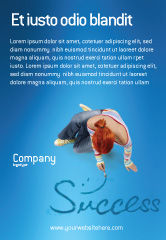 Consulting: Women's Succes Advertentie Template #02900
