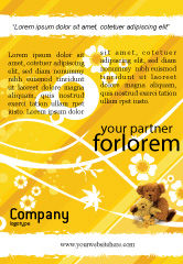 Holiday/Special Occasion: Teddy Bear Ad Template #02901
