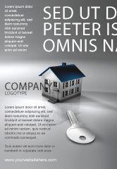 Careers/Industry: Plantilla de publicidad - propiedad de bienes raíces #02932