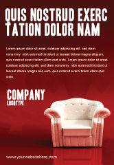 Careers/Industry: Plantilla de publicidad - silla de confort #02933