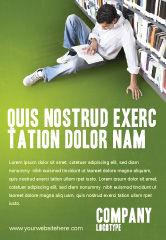 Education & Training: Modèle de Publicité de autoformation #02948