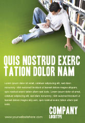 Education & Training: 自我教育广告模板 #02948