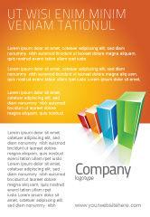 Business Concepts: Bewertung histogramm Anzeigenvorlage #03026