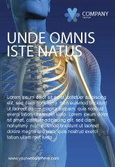 Medical: Modelo de Anúncio - ossos #03063