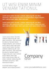 People: Modelo de Anúncio - mãos acima dos adolescentes #03124