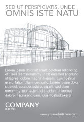 Construction: 建筑设计广告模板 #03154