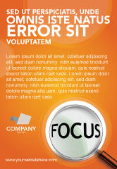 Consulting: Focus Ad Template #03176